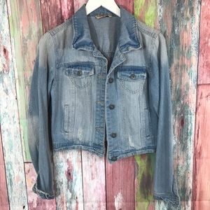 Highway Jeans light colored jean jacket